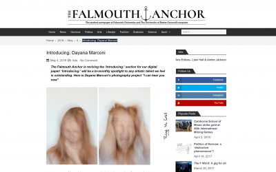 """""""I can hear you now"""" on The Falmouth Anchor"""